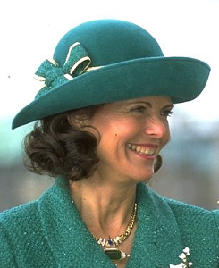 Queen Silvia, April 30, 1996 | Royal Hats