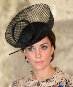 Duchess of Cambridge, July 1, 2016 in Silvia Fletcher for Lock and Co.| Royal Hats