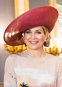 Queen Máxima, July 3, 2016 in Fabienne Delvgine | Royal Hats
