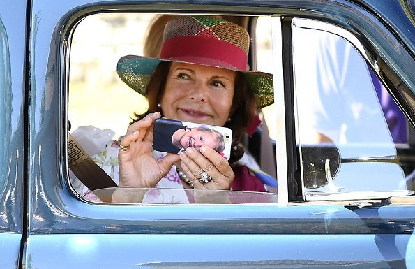 Queen Silvia, August 27, 2016 | Royal Hats
