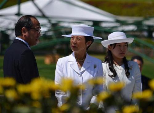 Princess Hisako and Princess Ayako, August 10, 2016 | Royal Hats