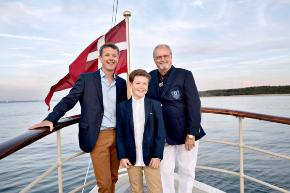 Princes Henrik, Frederik and Christian, August 2016 | Royal Hats