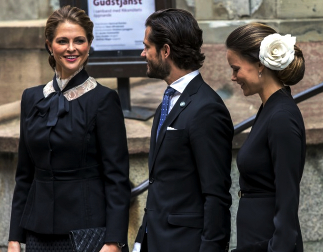 Princess Madeleine and Princess Sofia, September 13, 2016 | Royal Hats