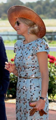 Queen Máxima, Nov 1, 2016 in Fabienne Delvigne | Royal Hats