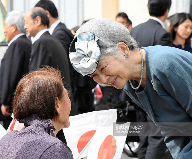 Empress Michiko, Sep 30, 2016 | Royal Hats