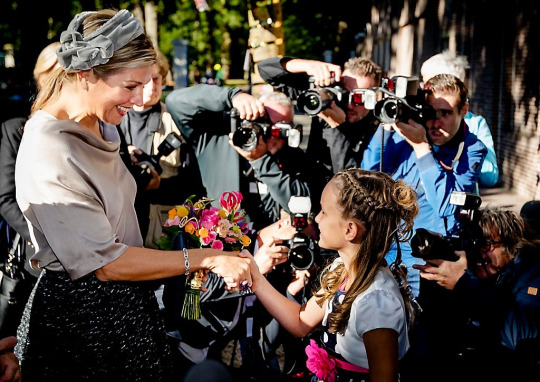 Queen Máxima, Oct 5, 2016 in Fabienne Delvigne | Royal Hats