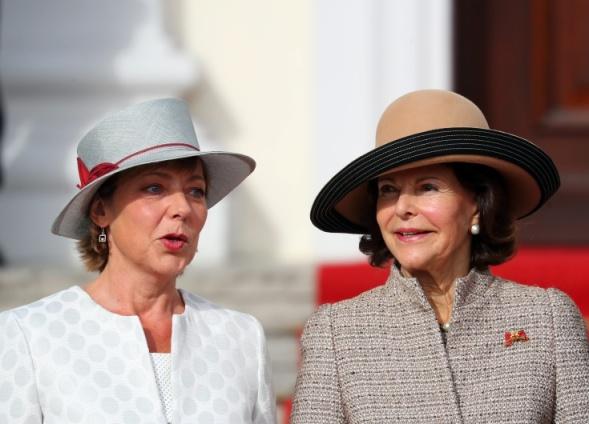 Queen Silvia, Oct 5, 2016 | Royal Hats