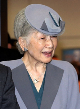 Empress Michiko, Oct 23, 2016 | Royal Hats