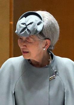 Empress Michiko, Oct 24, 2016 | Royal Hats