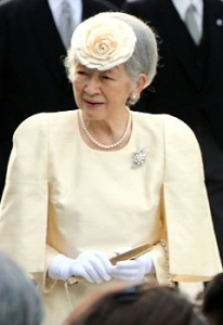 Empress Michiko, Oct 25, 2016 | Royal Hats