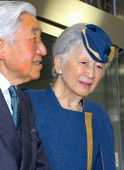 Empress Michiko, Oct 26, 2016 | Royal Hats