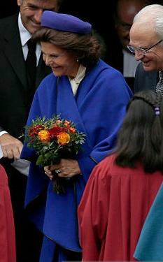 Queen Silvia, October 31, 2016 | Royal Hats