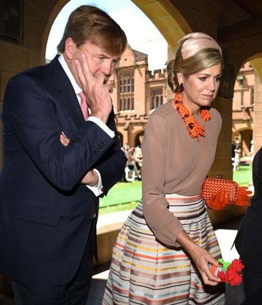 Queen Máxima, Nov 3, 2016 in Fabienne Delvigne | Royal Hats