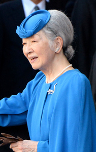 Empress Michiko, Oct 2, 2016 | Royal Hats