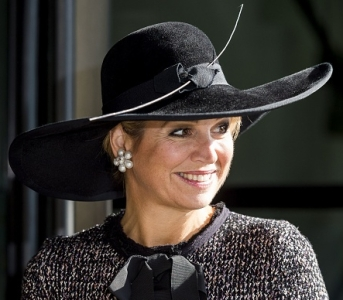 Queen Maxima, Oct 4, 2016 in Fabienne Delvigne | Royal Hats