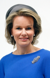 Queen Mathilde, Oct 5, 2016 in Fabienne Delvigne | Royal Hats