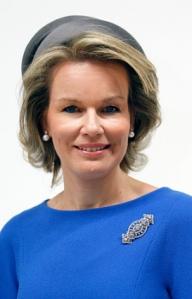 Queen Mathilde, Oct 5, 2016 in Fabienne Delvigne | Royal Hats