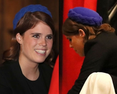 Princess Eugenie, Oct 13, 2016 in Juliette Botterill | Royal Hats