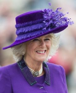 Duchess of Cornwall, Oct 27, 2016 in Philip Treacy | Royal Hats