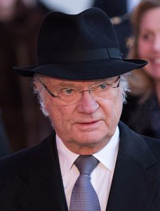 King Carl Gustaf, January 17, 2016 | Royal Hats