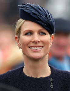 Zara Phillips Tindall, March 16, 2016 in Rosie Olivia | Royal Hats