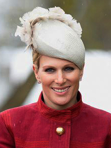 Zara Phillips Tindall, April 9, 2016 in Rosie Olivia