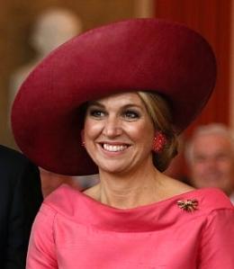 Queen Máxima, April 13, 2016 in Fabienne Delvigne | Royal Hats