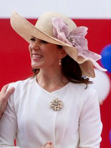 Crown Princess Mary, June 13, 2016 in Susanne Juul | Royal Hats