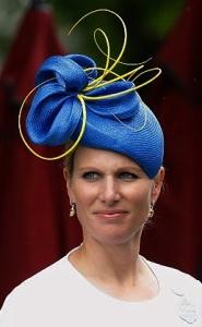 Zara Tindall, June 14, 2016 in Rosie Olivia | Royal Hats