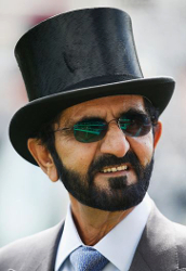 Sheikh Mohammed bin Rashid Al Maktoum, June 15, 2016 | Royal Hats