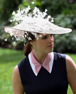 Princess Eugenie, June 16, 2016 in Jess Collett | Royal Hats