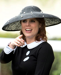Princess Eugenie, June 18, 2016 in Nerida Fraiman | Royal Hats