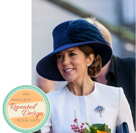 Crown Princess Mary, Oct 33, 2016 in Susanne Juul | Royal Hats
