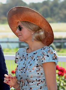Queen Máxima, Nov 1, 2016 in Fabienne Delvigne | Royal Hats