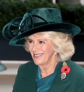 Duchess of Cornwall, Nov 1 2016 in Philip Treacy | Royal Hats