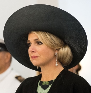 Queen Máxima, Nov 7, 2016 in Fabienne Delvigne | Royal Hats