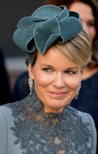 Queen Mathilde, Nov 30, 2016 in Fabienne Delvigne | Royal Hats