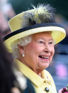 Queen Elizabeth, Dec 1, 2016 in Angela Kelly | Royal Hats