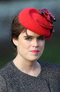 Princess Eugenie, Dec 25, 2016 in Sarah Cant | Royal Hats