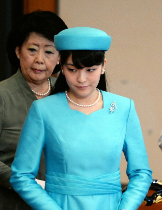 Princess Mako, Jan 11, 2017 | Royal Hats