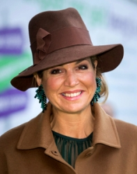 Queen Máxima, Jan 24, 2017 in Fabienne Delvgine | Royal Hats