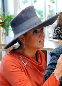 Princess Máxima, October 4, 2012 in Fabienne Delvigne | Royal Hats