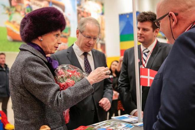 Princess Benedikte, Feb 1, 2017 | Royal Hats