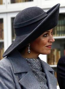 Queen Máxima, Feb 8, 2017 in Fabienne Delvigne | Royal Hats