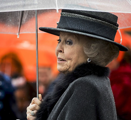 Princess Beatrix, Feb 8, 2017 | Royal Hats