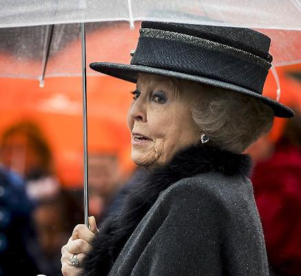 Princess Beatrix, Feb 8, 2017 | Royal Hats