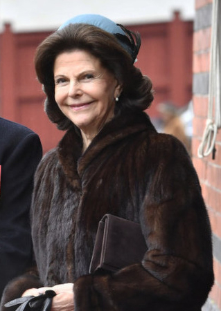 Queen Silvia Feb 20, 2017 in Kerstin Carlefalk | Royal Hats