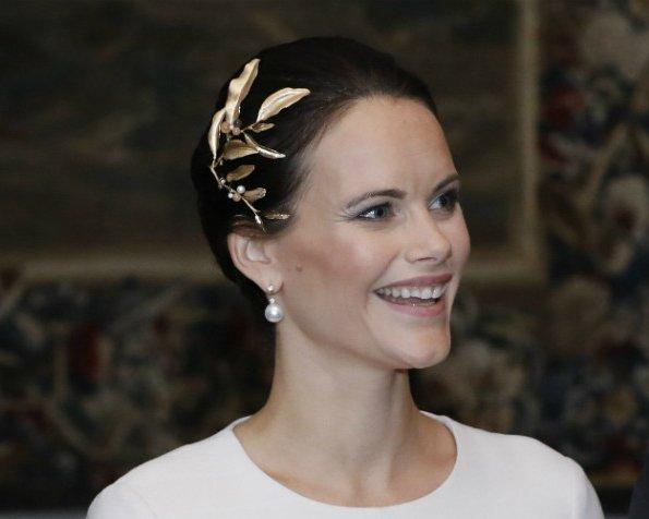 Princess Sofia, Feb 20, 2017 in Ole Lynggaard   Royal Hats