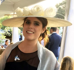 Princess Eugenie, Jan 7, 2017 in Juliette Botterill | Royal Hats