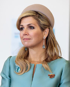 Queen Máxima, Feb 9, 2017 in Fabienne Delvigne | Royal Hats